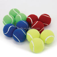 1.5inch cats toys squeaky tennis balls wholesale