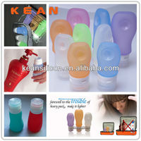 Bulk Cosmetic Bottle/Leak-proof Airline Approved Squeezable Travel Bottle 3oz Toothpaste/Body Wash Container/Jars