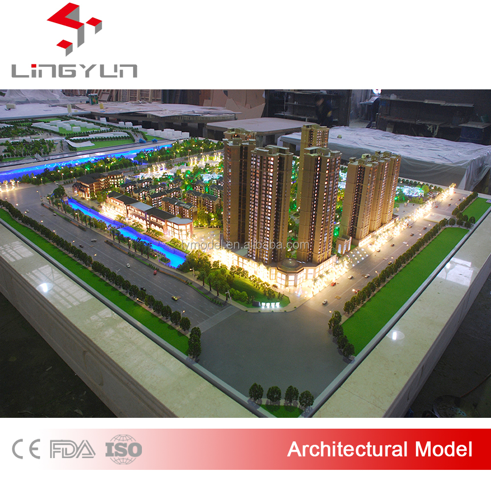 large scale architectural residential model for sale
