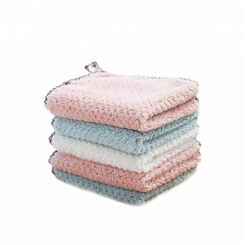 100% cotton water absorption disposable linen kitchen bowl towel