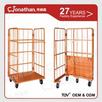 Large Metal Galvanized Supermarket Storage Mesh