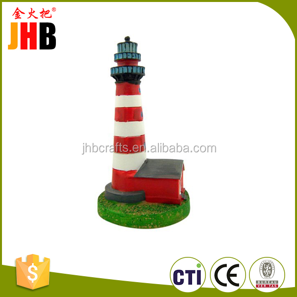 Cheap polyresin lighthouse model for Tourist souvenirs