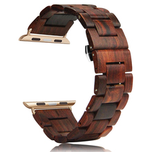 Integrated Watch Bands OEM Intelligent Watch Strap Wooden Watch Band For iWatch Band