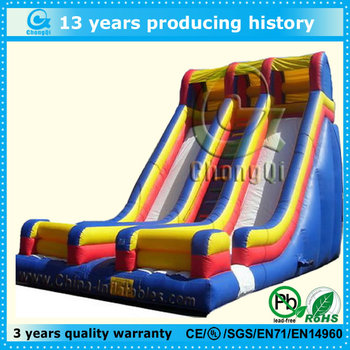 commercial inflatable slide for kids