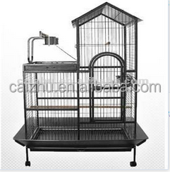 2016 Hot sale stainless steel beautiful large bird breeding flight cage from china
