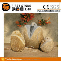 GAB517 Natural Stone Carved Stone Birds