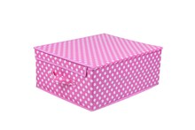 Hot Sale Underbed Cloth/Quilt/Pillow Storage Box With Lid