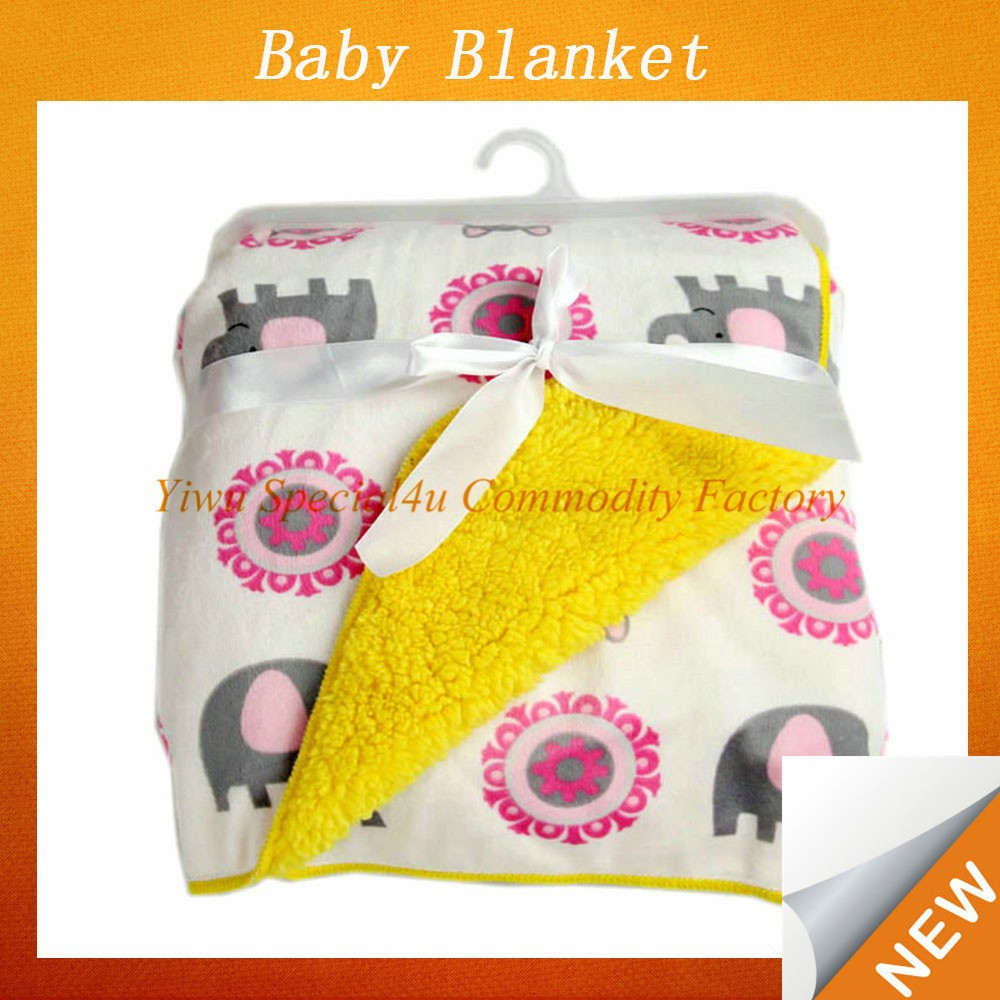 soft feel 100% polyester Eco-friendly baby blanket/kids blanket baby blanket embroidery patterns SPBB-029