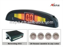 2012 HOT PRODUCT LED PARKING SENSOR WIEH 2/4/6 SENSOR ANY COLOR YOU CAN CHOOSE