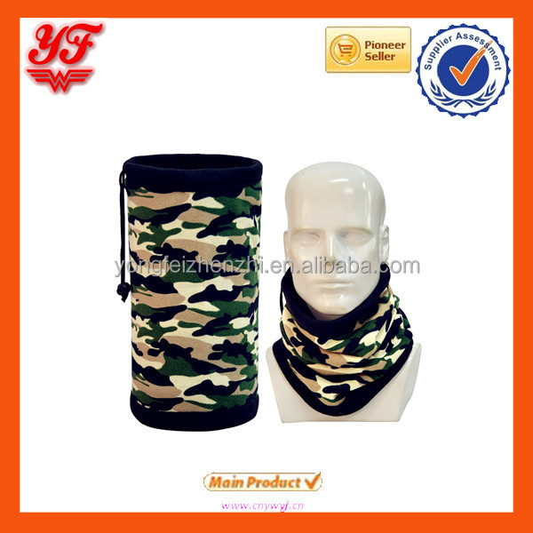 Outdoor Tubular Seamless Riding Camouflage Multifunctional Scarf Neck Warmer