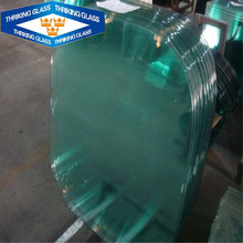 standard size 8mm 10mm thick colored tempered glass for commerical building
