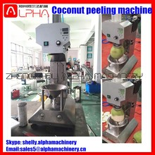 Coconut processing machinery coconut trimming machine coconut peeling machine