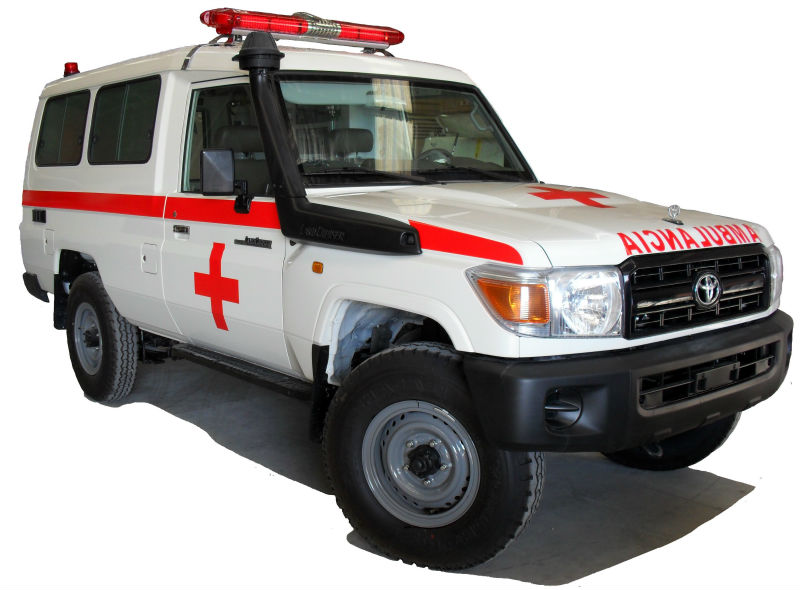 AMBULANCE TOYOTA LAND CRUISER HARDTOP B6 ARMORED