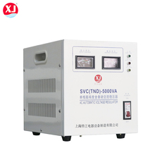 MARCH EXPO 50hz 60hz TND SVC Single Phase servo motor 5000 watts voltage stabilizer