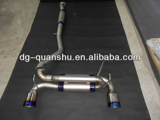 Full Titanium Exhaust system fits 350Z