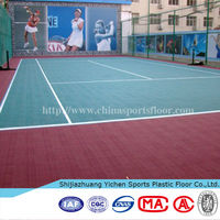 Yichen China factory high quality interlocking outdoor tile