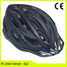 in-mold MTB bicycle helmet with visor out-mould bike helmet for cycling sports
