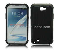 Factory directly sale black silicone case for samsung galaxy note 2 n710