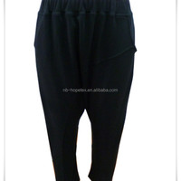 Women Black Harem Pants One Size