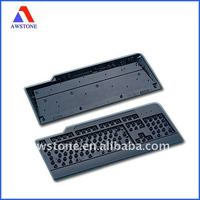 mould for computer Keyboard enclosure