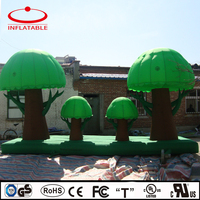 inflatable tree model replica for decoration