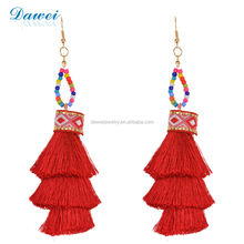 Fashion Temperament Exaggerated Original Thread Tassel Earrings For Women