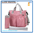 High Quality Multifunctional Rose Diaper Bags for Mummy