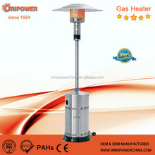 High Efficiency Floor Standing Outdoor Gas Patio Heaters, gas patio heater stainless steel