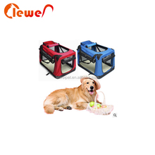 Customized size soft-sided cat dog comfort travel pet carrier bag