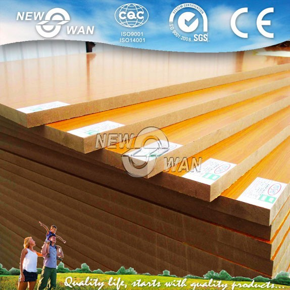 Wood Grain/Wood color Melamine Laminated MDF Board Prices