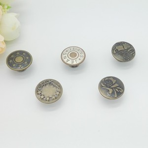 Manufacturer Whole Sale Fancy Designer Custom Coats Jean Buttons