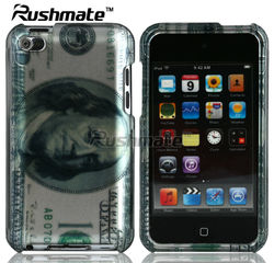 For Apple ipod Touch4 Dollar Design Glossy Phone Case