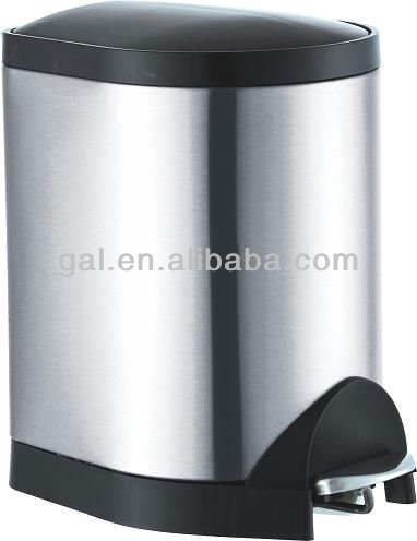 wholesale bins stainless steel body and plastic cover