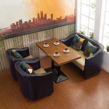wholesale Fast Food Restaurant Furniture Booth Seating, soft bench seat, modern italian furniture R1703