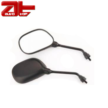 Motorcycle Hand Bar End Mirrors,Mirror ABS Plastic,Black Handlebar Mirror For Motorcycle