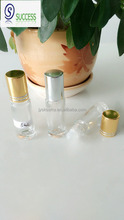 5ml clear glass essential oil bottle with roller ball