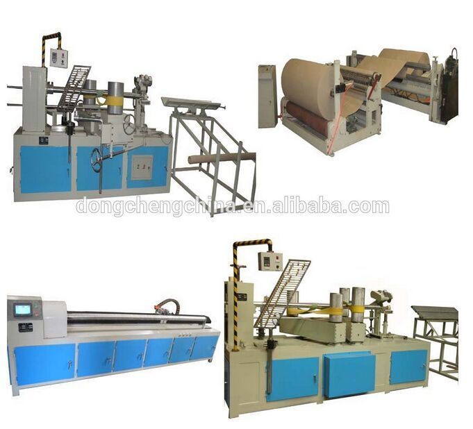 JG-800 Spiral Cardboard Paper Tube Core Making Machine for DTY TUBE Yarn Textile industry