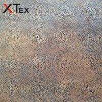 backing woven suede fabric clothes for making leather sofa cover and antique leather sofa