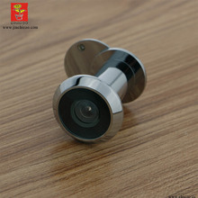 China suppliers Brass 200 Degree wide angle with glass lens door viewer, Door Peephole Viewer,polish chrome eye viewer