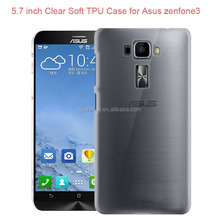 Phone Accessories Mobile Thin Crystal Clear TPU case for Asus zenfone 3 max