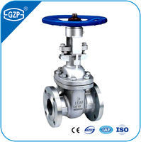 API ANSI Standard Industrial Casting Stainless Steel RF RJ RTJ Flanged Bolted Bonnet Manual Hand Wheel Gear Operated Gate Valve
