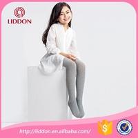 Plain color design kids girls cotton pantyhose professional hosiery manufacturer