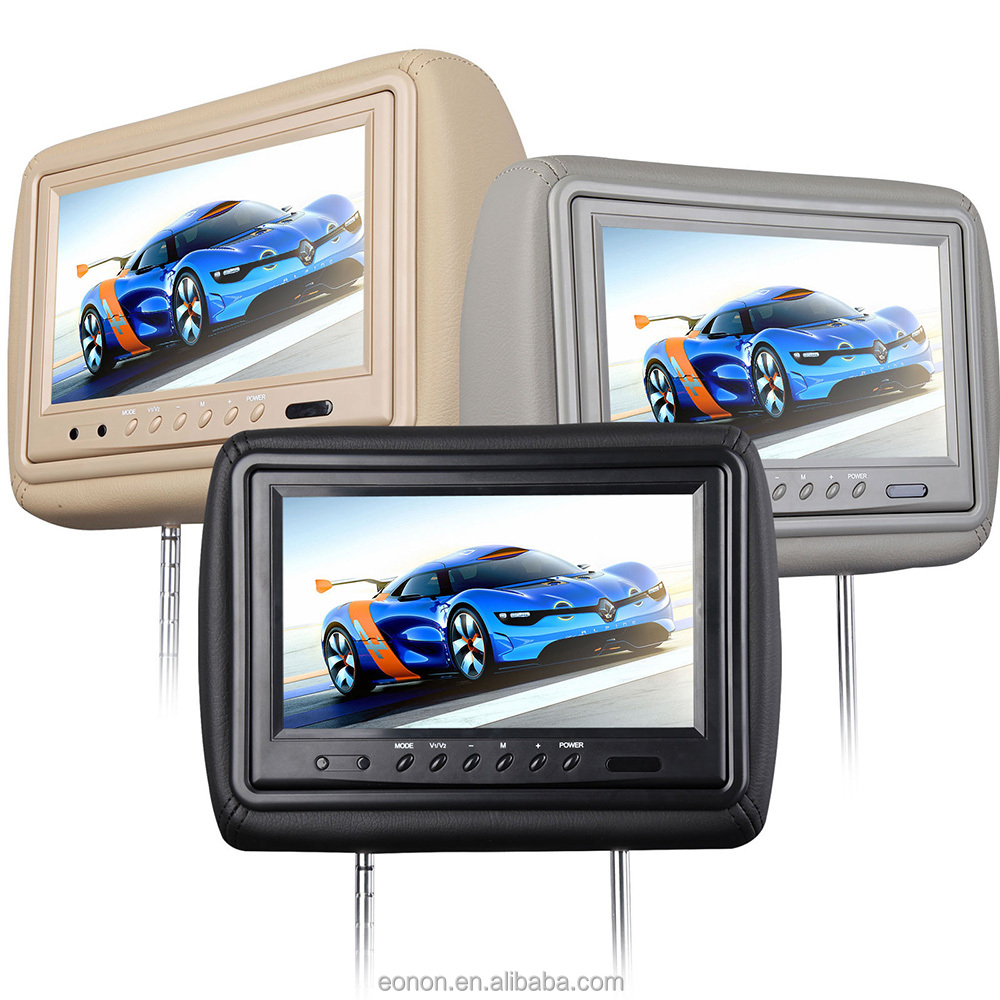 "EONON L0261ZM 2x9""HD LCD Car Pillow Headrest DVD Player"