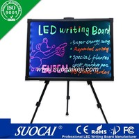 high quality 80x60cm led fluorescent led display board software