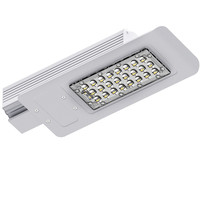 12v dc outdoor 30w solar led street garden light lamp