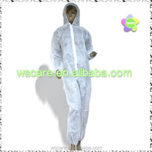 M-XXXL Disposable White Overall Protective Painting Decorating Coverall Suits