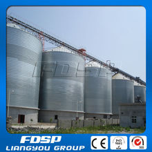 9000Tons Feed Mill Used Corn Oats Storage Silo / Grain Maize Steel Silo For Sale