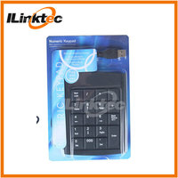 High quality numeric keyboard for laptop wired USB numeric keypad for laptop