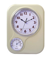 2015 new radio controlled weather station clock