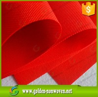 Best price red nonwoven fabric/pp cambella cross non woven suit cover /garment non-woven fabric material